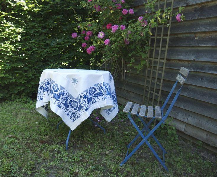 Omas Baumwolltischdecke von Weißwäscherei - antike Textilien auf DaWanda.com