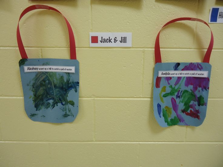 Jack and Jill.  Use the student's name- Trinity Preschool MP: Learning colors and shapes through nursery rhymes and songs in preschool