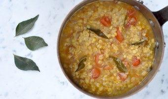 Arun's lentil soup