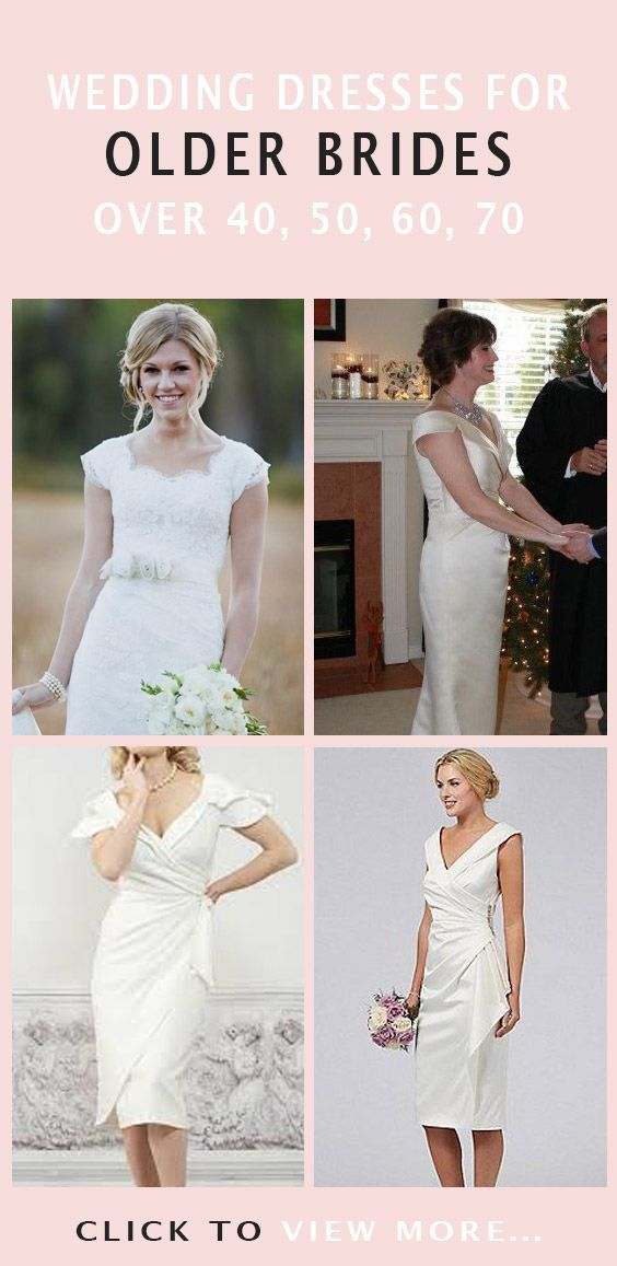 Here we have some tips on how to choose wedding dresses for brides over 40,50,60…