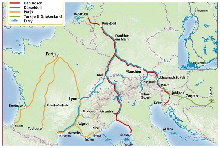 Reizen met de trein naar italie kan ook en wij geven jouw tips! Kijk snel op de website van metdetreinnaarparijs.eu voor meer informatie :)