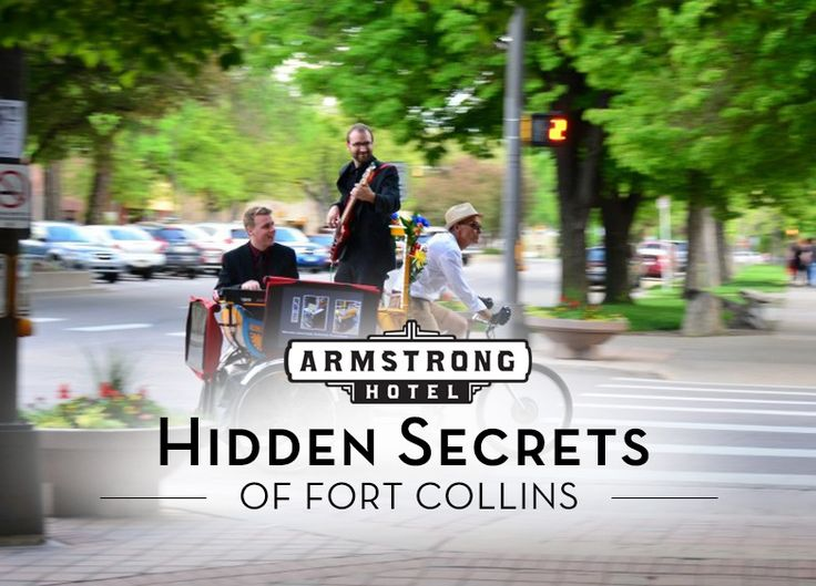 Some of the best things to do/eat/see in Fort Collins are also its best kept secrets! Since you're our guest, we'd love to show you the ropes and give you the inside scoop to some of our most favorite, most secret places in Fort Collins that only the locals know. The Armstrong Hotel in Fort Collins, Colorado is a 1920's, boutique-style hotel in the heart of Old Town. Come experience an authentic stay with us!