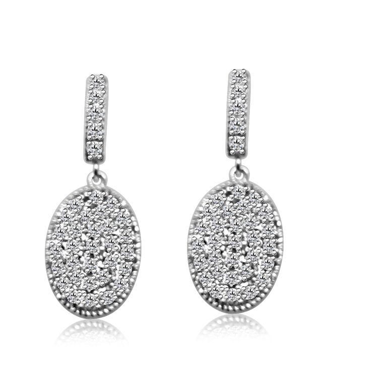Angara Floating Pear Kunzite Halo Drop Earrings with Diamonds HdaP5WH5b