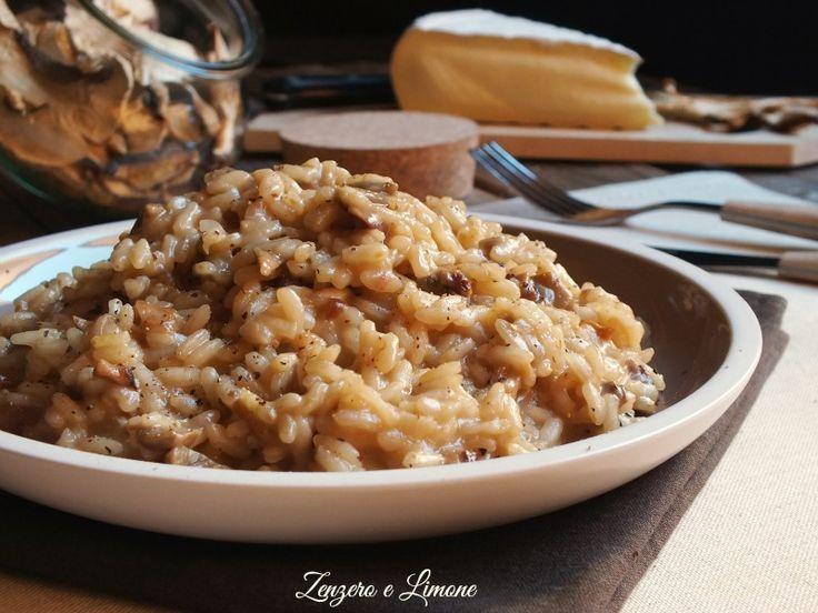 Il risotto porcini e brie è un primo piatto delicato e cremoso in cui tutti gli ingredienti si sposano alla perfezione. Facilissimo da preparare.
