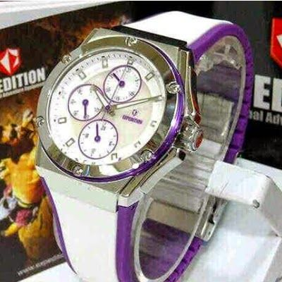 Jam Tangan Expedition E-6391 Silver White Purple RP 825,000 | BB : 21F3BA2F | SMS :083878312537