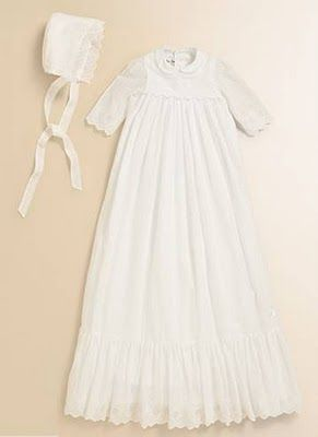 Baby Dior christening gown