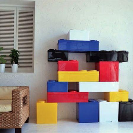 これはもはやレゴ収納。ブロックストレージボックス