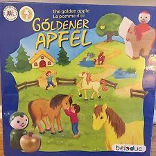 The Golden Apple Wooden Board Game Goldener Apfel New Sealed German 2004 Beleduc