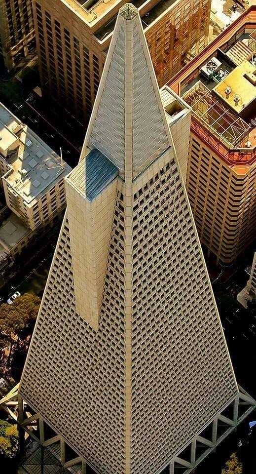 pingl par CMTransamerica Pyramid designed in the