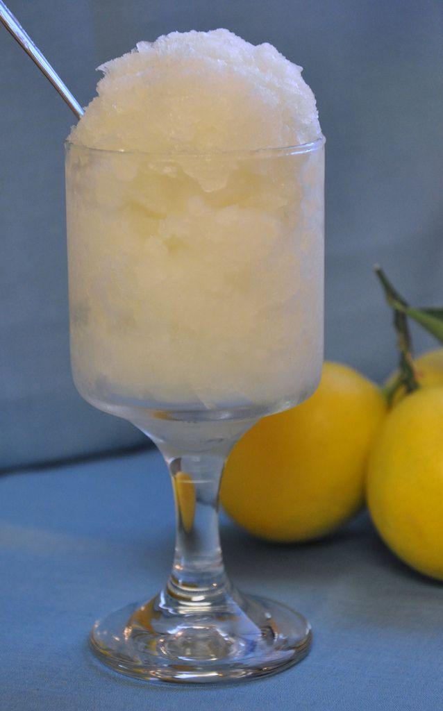 When Life Gives You Lemons, Make Lemon Granita