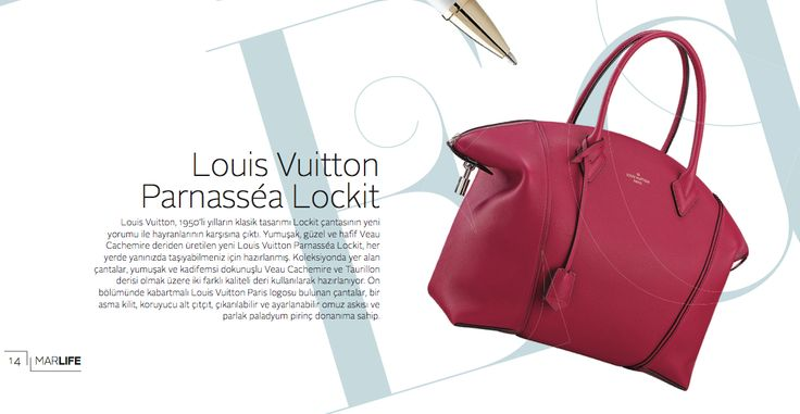 Louis Vuitton Parnassea Lockit