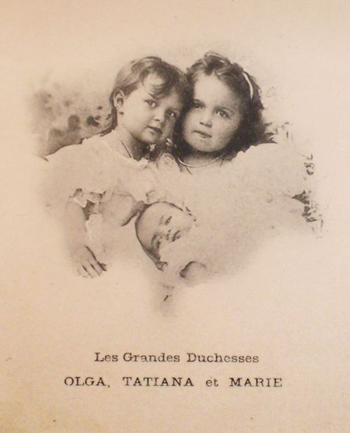 Tatiana, Olga and Maria, 1899