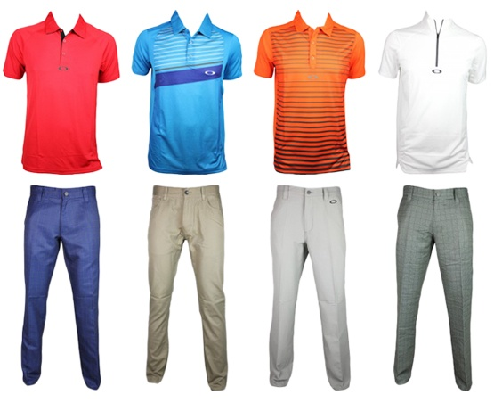 oakley golf attire