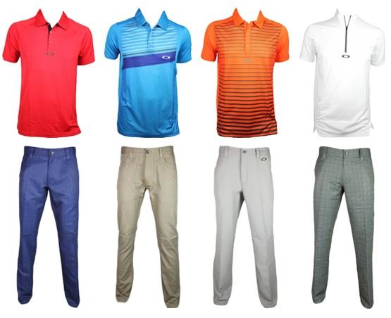 Mens Oakley Golf Shirts