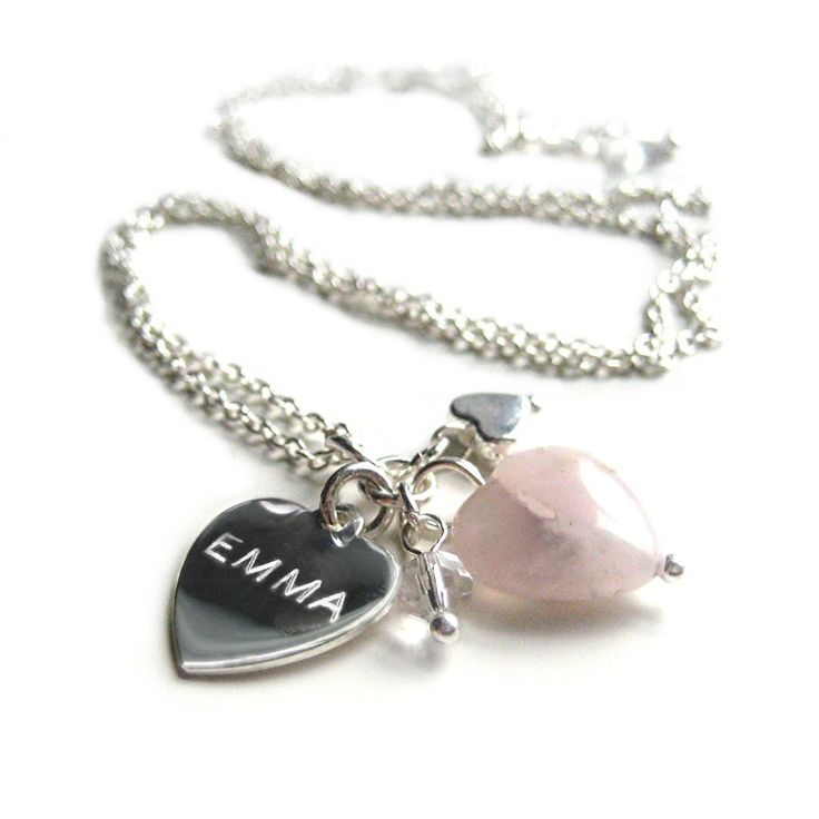 BUTTERFLY 50TH Birthday Bracelet Bangle-Women-Girls-Silver-Heart-Charm-Gift 9Z47DZ