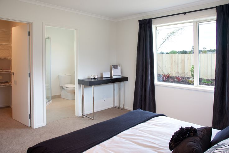 Master bedroom with ensuite and walk in wardrobe.