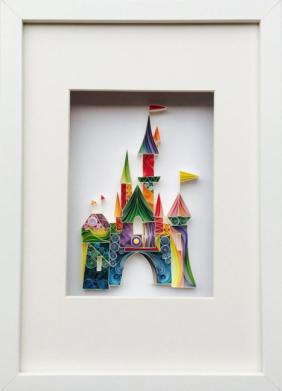 Quilled Paper Art The Place Where Wishes Come True by SenaRuna