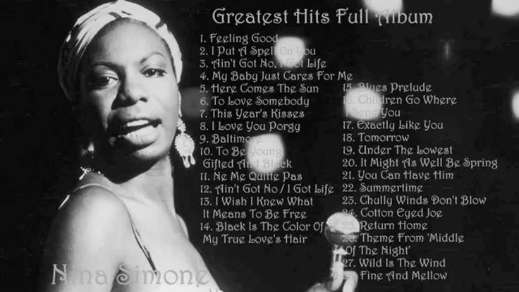 NINA SIMONE - Greates Hits Full Album | Best songs of Nina Simone