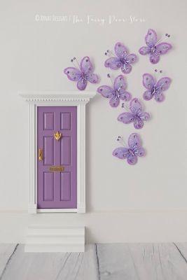 Fairy Door with Butterflies