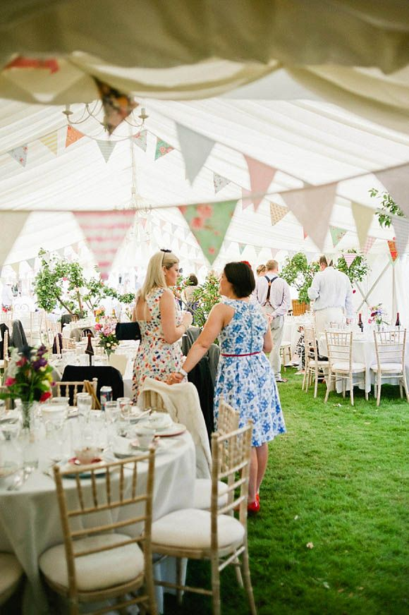 A Bright, Rainbow Coloured 1950's Inspired Wedding