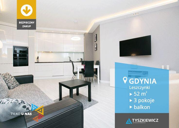 Poznaj urzekające wnętrze tego luksusowego mieszkania w Gdyni. Oferta w nowej, niższej cenie!  Budynek został zdobywcą III miejsca, popularnego wśród internautów plebiscytu, jako Najciekawsza Inwestycja Mieszkaniowa Roku. Atutami są tu m.in. eleganckie patio z ochroną oraz gustownie zaaranżowane części wspólne. Bezpieczeństwo podnoszą zamontowane kamery. Otoczenie budynku wzbogacone jest zielenią i elementami małej architektury.  Więcej podobnych ofert szukaj n