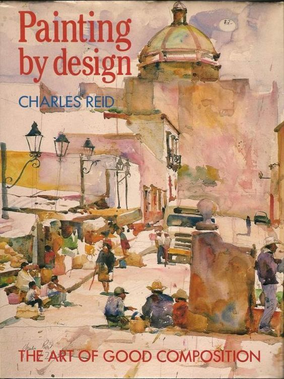 Charles Reid Is The Master, Such A Unique Watercolor Style.