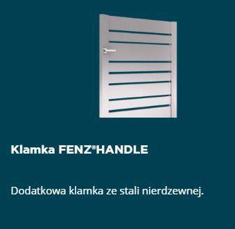 Warto wiedzieć, że w standardowej ofercie #FENZ oferujemy klamki oraz pochwyty aluminiowe lakierowane proszkowo pod kolor #ogrodzenia. Oprócz standardowej oferty posiadamy dodatkowe akcesoria tj: pochwyt nierdzewny FENZ®RAIL, klamkę ze stali nierdzewnej FENZ®HANDLE.