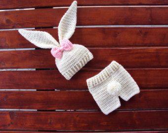 Bunny hat diaper | Etsy