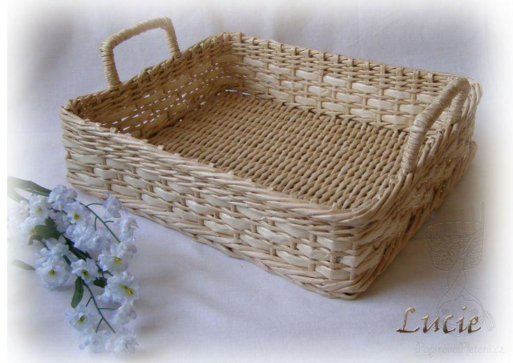 Pletení z papíru 2012 - Papírové pletení