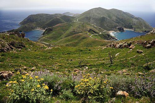 Porto Kayio (left) and Marmaris (right) #Mani peninsula, Peloponese, #Greece