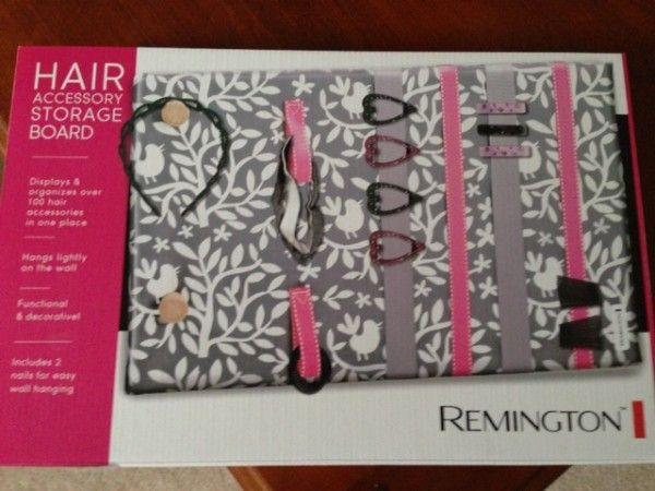 Remington Hair Accessory Storage Board
