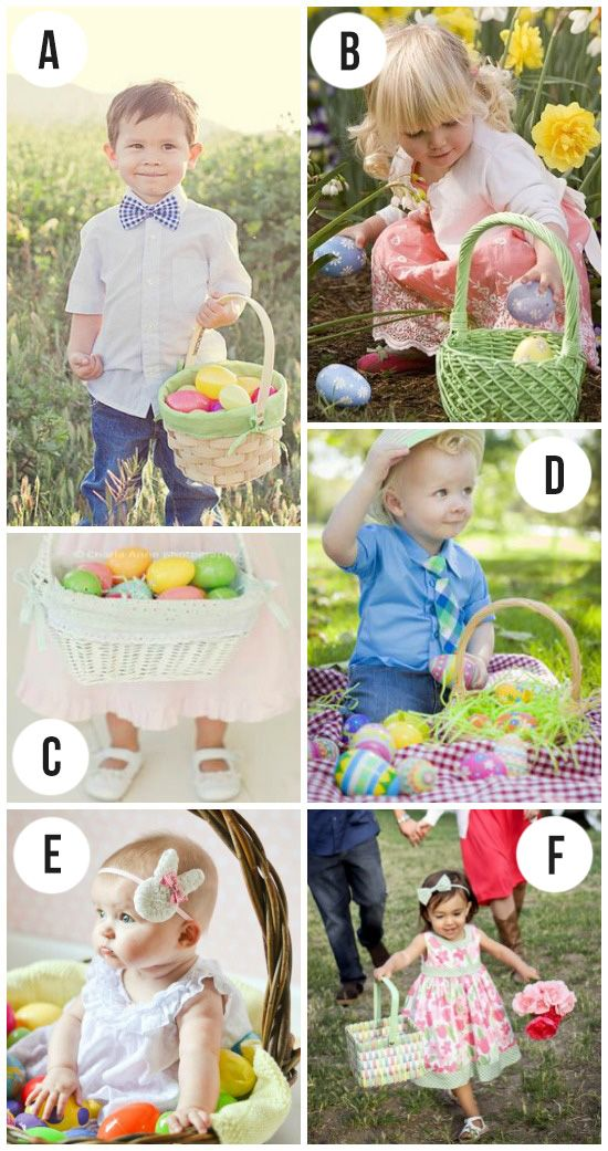 Ideas and inspiration for snapping some cute Easter pics of the kids this year.  Because they grow up waaaay too fast.