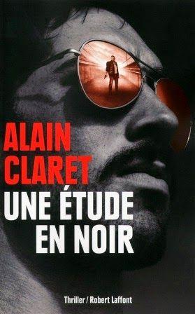 """Secret défense et génocide rwandais: """"Une étude en noir"""" d'Alain Claret, Robert Laffont - Black Libelle: Confidentiel Défense"""