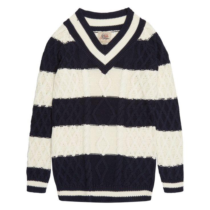 arabella and addison striped cable knit sweater tk. Black Bedroom Furniture Sets. Home Design Ideas