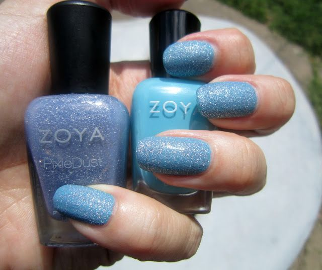 Zoya Rocky & Nyx! I used one very thing layer of Nyx over Zoya Rocky making sure to apply it carefully so coverage would be even.