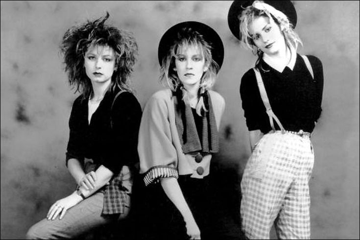 Siobhan Fahey, Keren Woodward and Sara Dallin - Bananarama