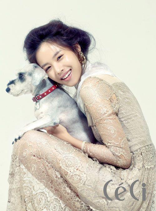 Jo Yoon Hee CéCi Korea Magazine October 2011