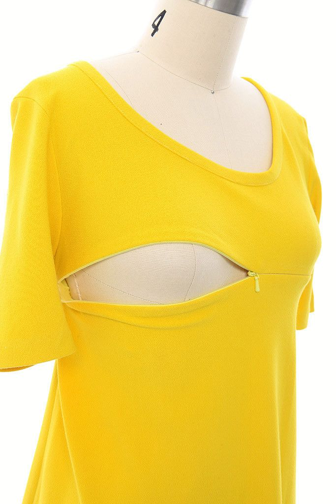 Harper and Bay Swing Nursing Dress - Yellow – Harper & Bay