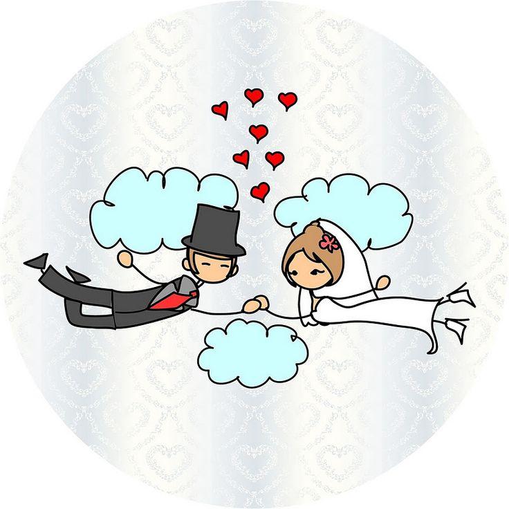 Gratuit mariage lune de miel avec des ballons et des coeurs imprimable.   Des idées et des trucs gratuits pour les fêtes et célébrations Oh My Party!