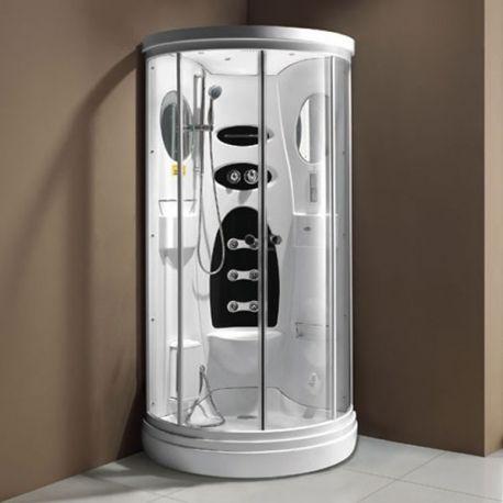 1000 id es sur le th me douche hydromassante sur pinterest colonne de douch - Cabine de hammam en kit ...