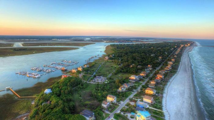 A Visit To The Most Laid-Back Beach In South Carolina Will Make Your Summer Epic