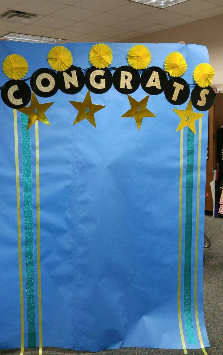 Kindergarten graduation photo booth background.   Projects ...  Kindergarten gr...