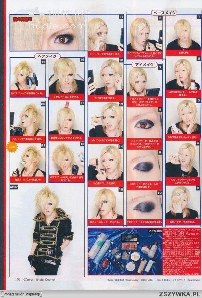 visual kei makeup tutorial #gothic #gothicmakeup