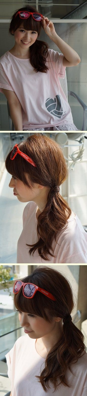 丸顔さんにおすすめサイドポニー。 かわいすぎる「スポーツ観戦ヘア」アレンジ実例7つ フェスやライブなどアクティブな日におすすめ☆ #髪型 #ヘアスタイル #ヘアアレンジ #hairstyle