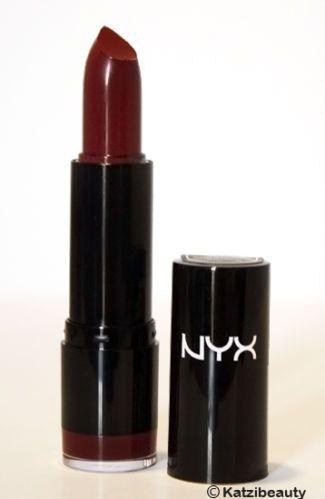 NYX Round Lipstick LSS575 Black Cherry 800897115739 | eBay