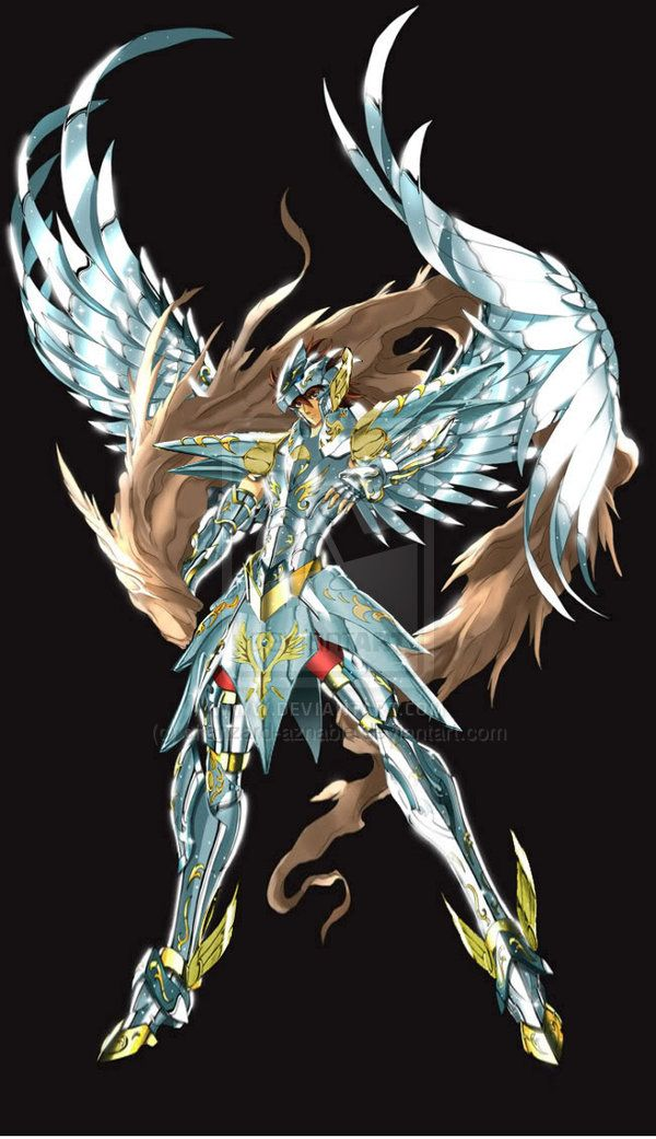 Saint seiya pegasus albion by charizard-aznable