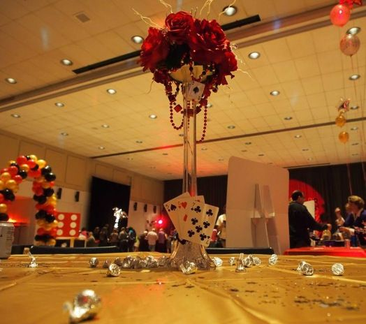Ideas about casino themed centerpieces on pinterest