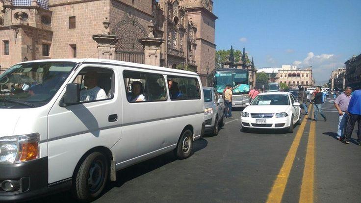 Se tiene previsto que la caravana pasará por Yuriria, Celaya y Querétaro, para finalmente arribar a la Ciudad de México (FOTOS: FRANCISCO ALBERTO STOMAYOR)