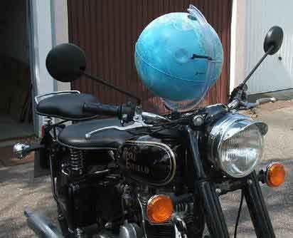 Vintage GPS system...lol