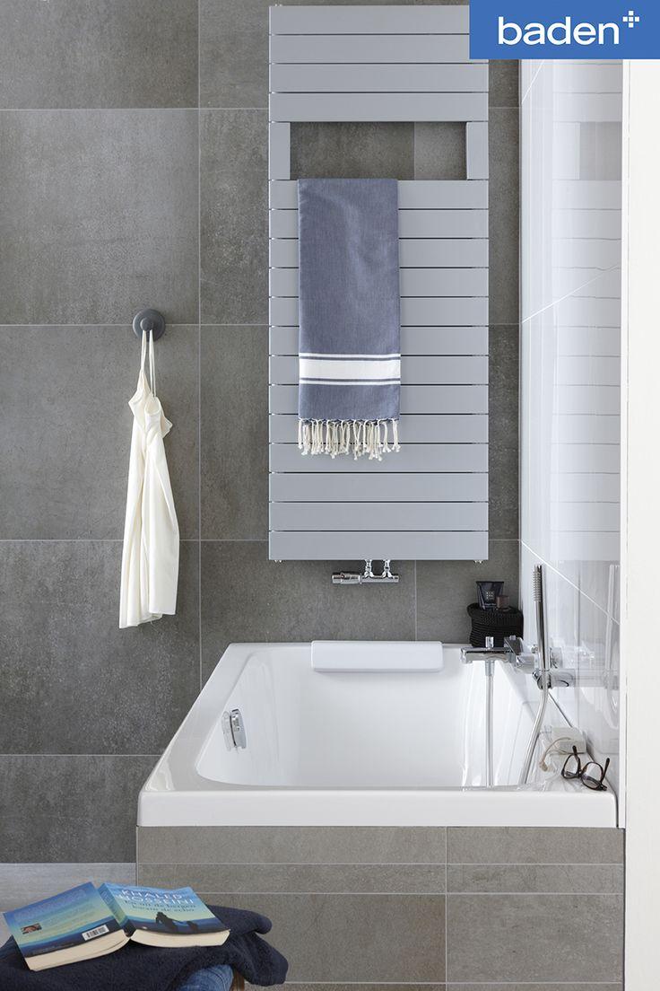 25 beste idee n over badkamer kleuren grijs op pinterest interieur kleuren grijze badkamer - Een badkamer deco ...